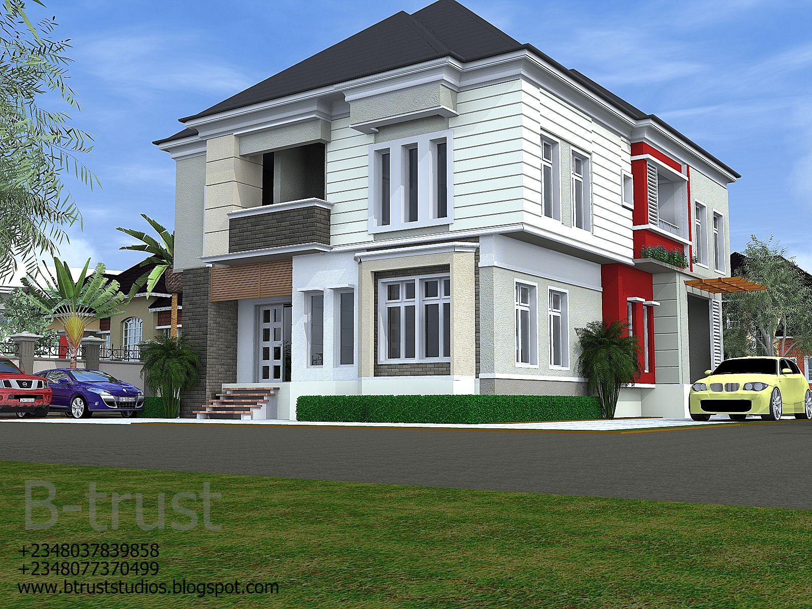 architectural designs by b trust studios 5 bedroom duplex