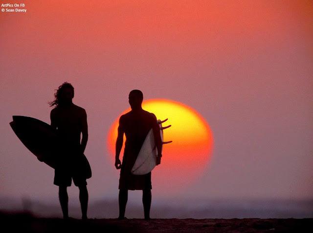 Sean Davey Digital Art photography : Surfing