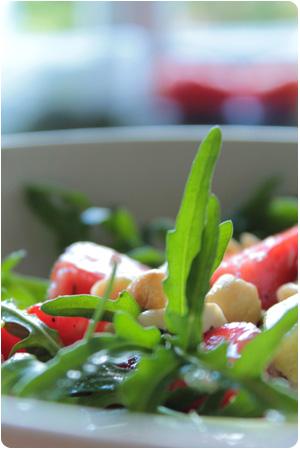 Avocado-Erdbeer-Salat
