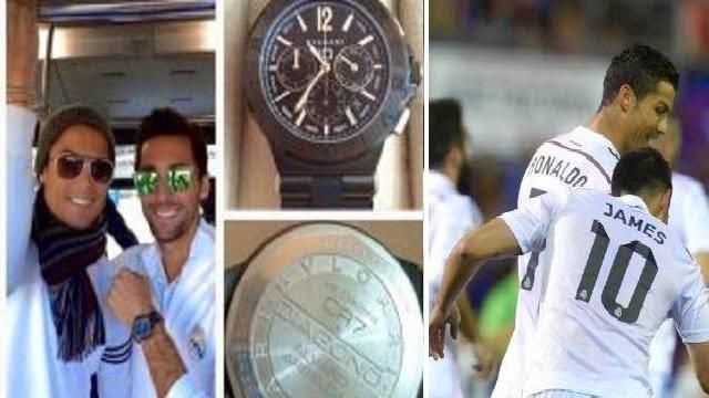 رونالدو يقدم ساعة فاخرة هدية للاعبي ريال مدريد