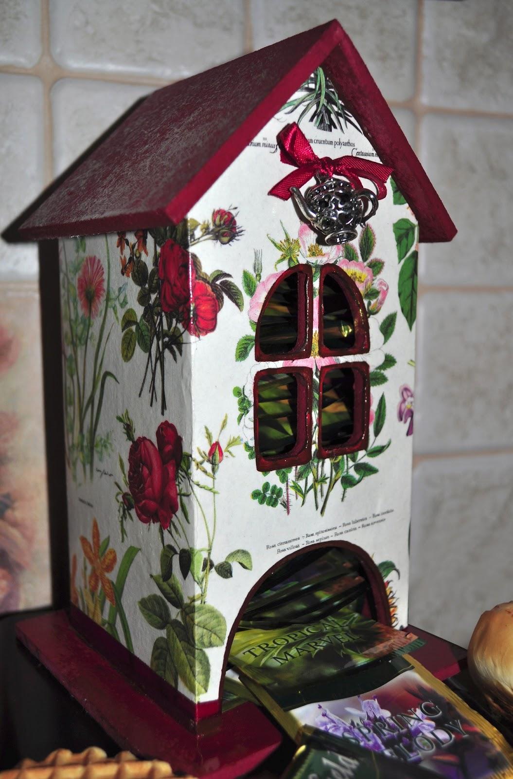 Как сделать чайный домик для чайных пакетиков 609