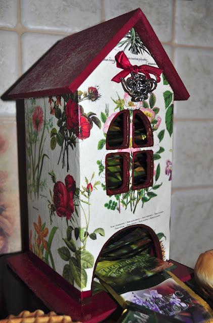 Красивый чайный домик своими руками 19