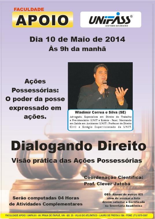 Dialogando Direito - 10.05.2014