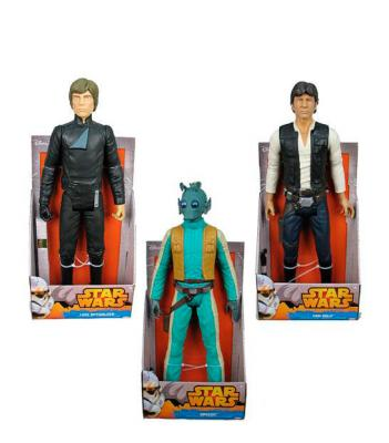 Pack Figuras Luke Skywalker Han Solo y Greedo