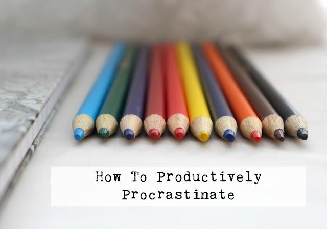 Productively Procrastinate bloggers blog