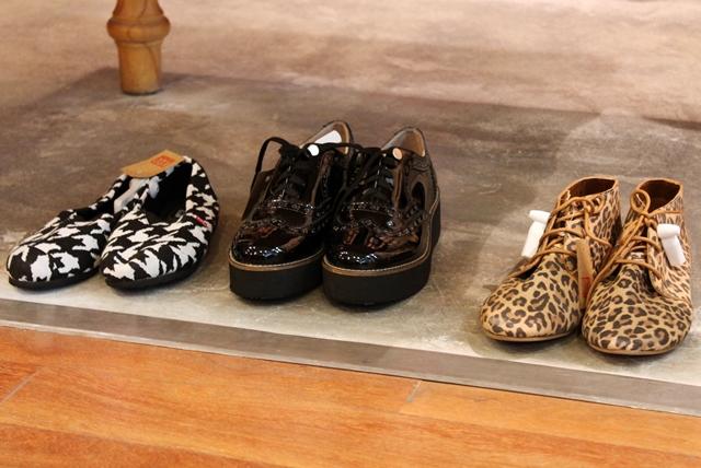 Alpargatas con estampado pata de gallo, Creepers, Desert Boots con leopard print ,
