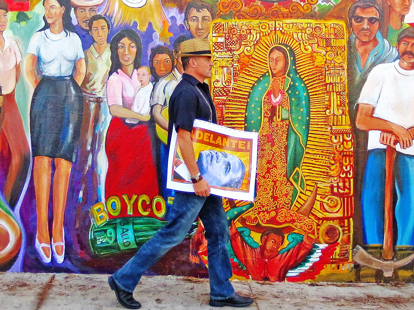 Los angeles murals chicano mural art mural world for Chicano mural art