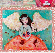 SuziBlu Petite Dolls Patchwork Angel