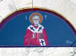 Ο Προστάτης της Ν.Φιγαλειας (Ζουρτσας) Αγιος Νικολαος