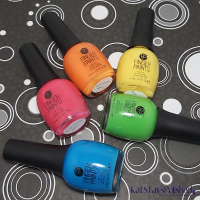 FingerPaints Tie Dye Revolution | Kat Stays Polished