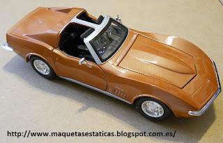 chevrolet corvette Mako Shark C3 1970 II Maisto 1:24