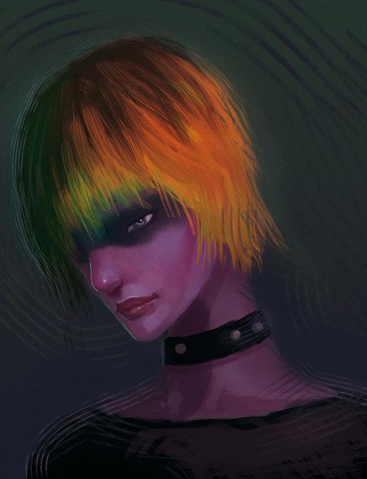 Cyborg-girl por elbardo