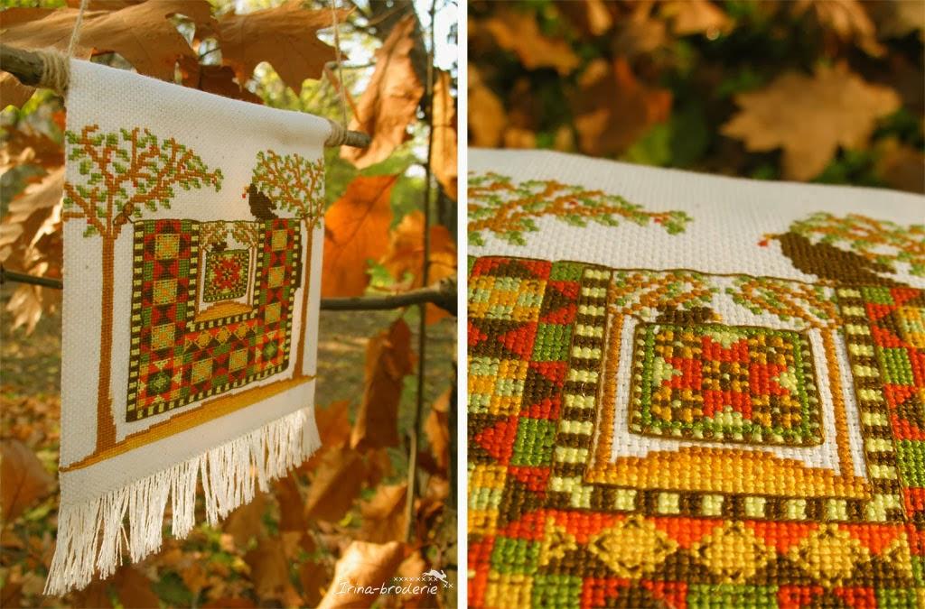Irina broderie couleurs d 39 automne - Images d automne gratuites ...