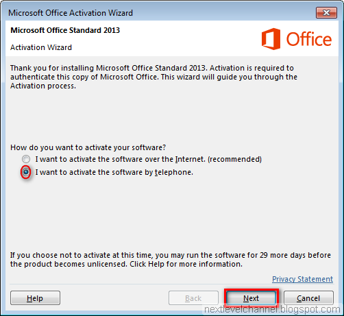 How to download install and activate microsoft office - Activation office 2013 sans telephone ...
