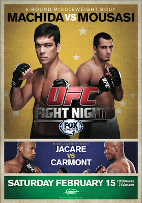 UFC Fight Night 36 Poster
