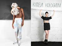 "ANDREA CREWS S/S13 ""KITTEN HOLOGRAM"""