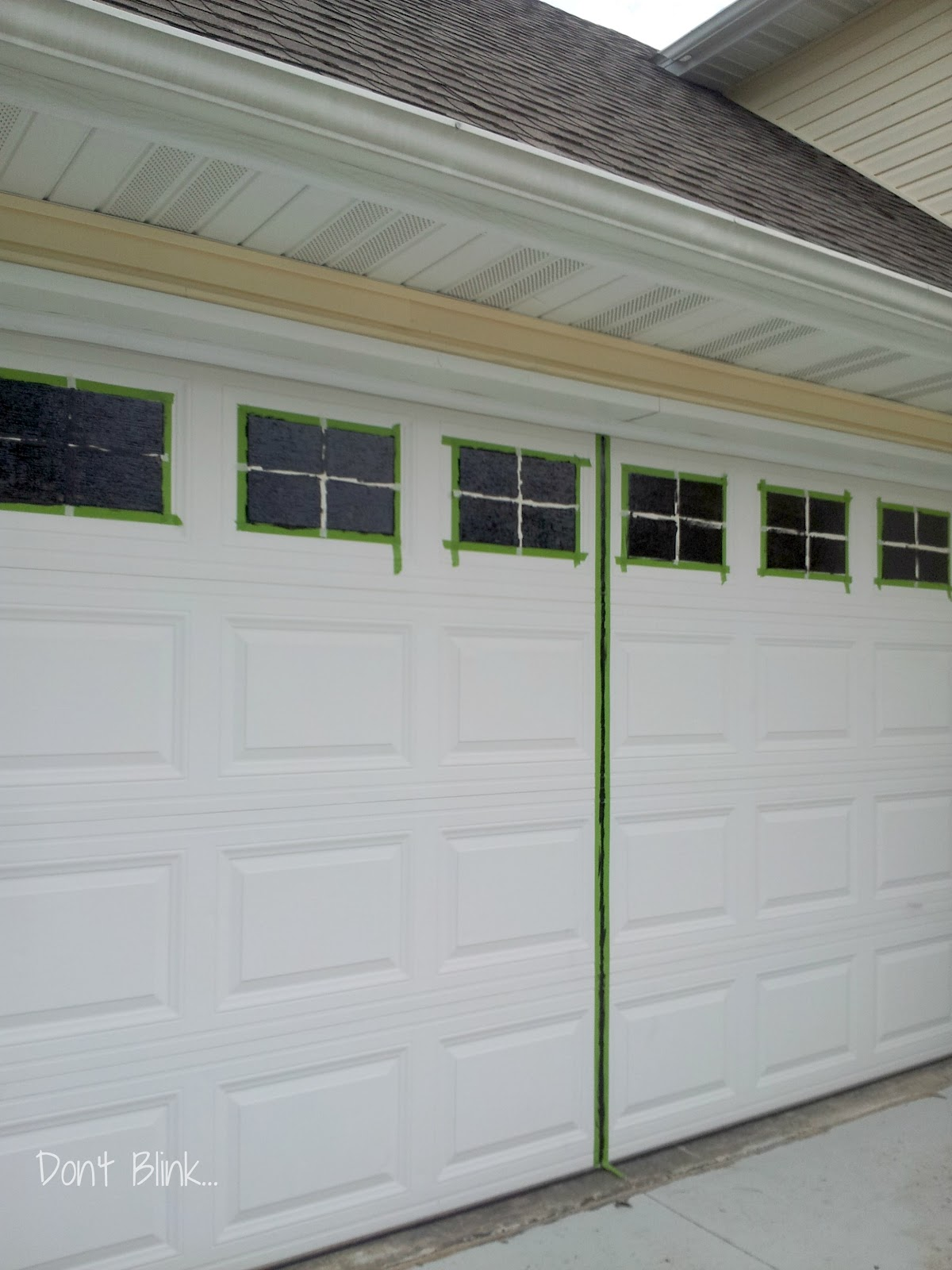 don 39 t blink curb appeal garage door