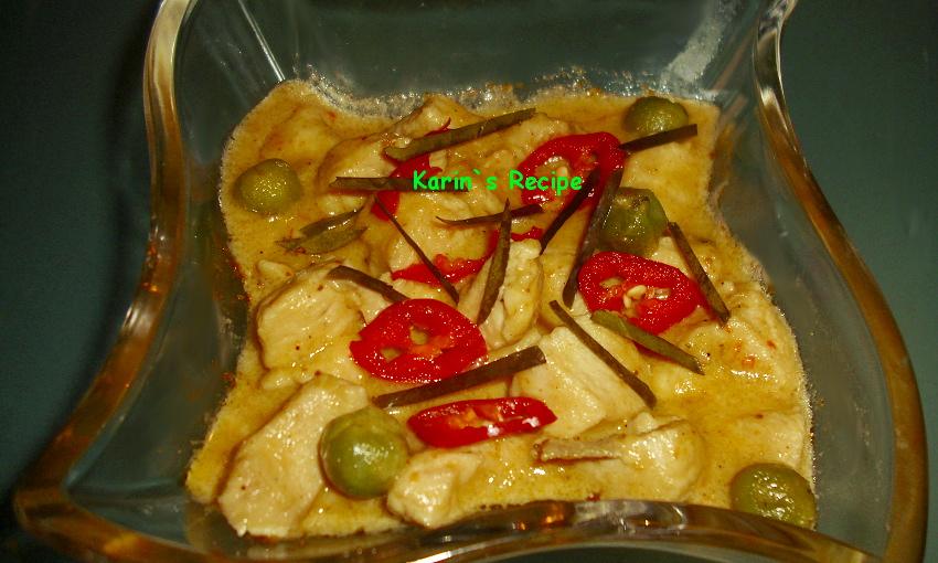 Karins recipe kari panang sapiayam thailand thai beefchicken in indonesian english forumfinder Images