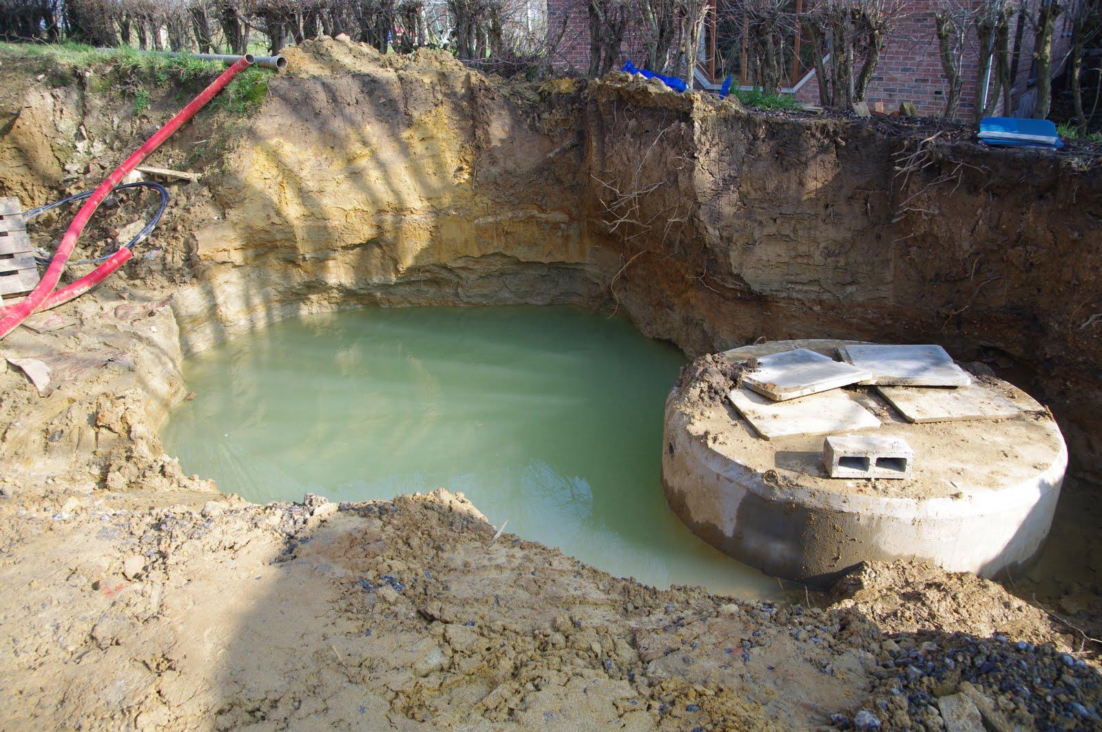 Maison nathalie et alban citerne eau de pluie flottante for Camion citerne eau remplissage piscine
