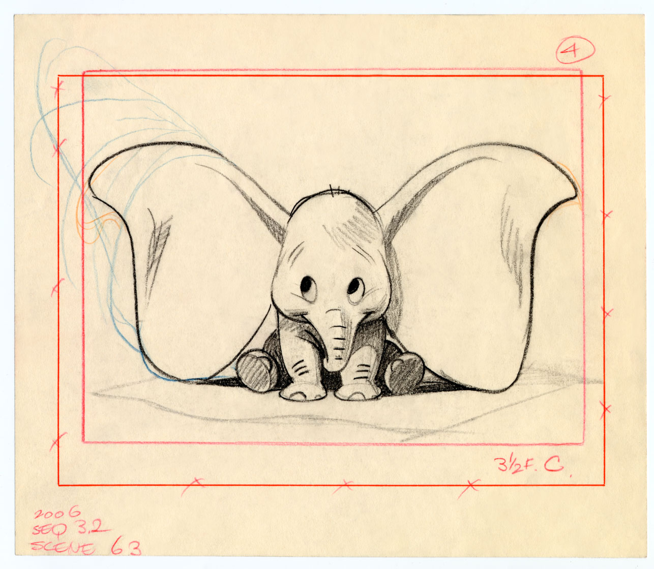 Disney Drawings: Deja View: Bill Peet's Dumbo