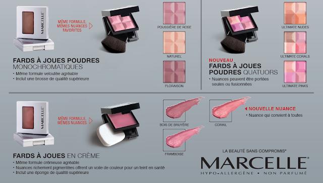 Marcelle change le format de ses boîtiers de poudres pour le visage