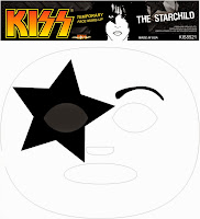 KISS - Starchild Temporary Face Makeup