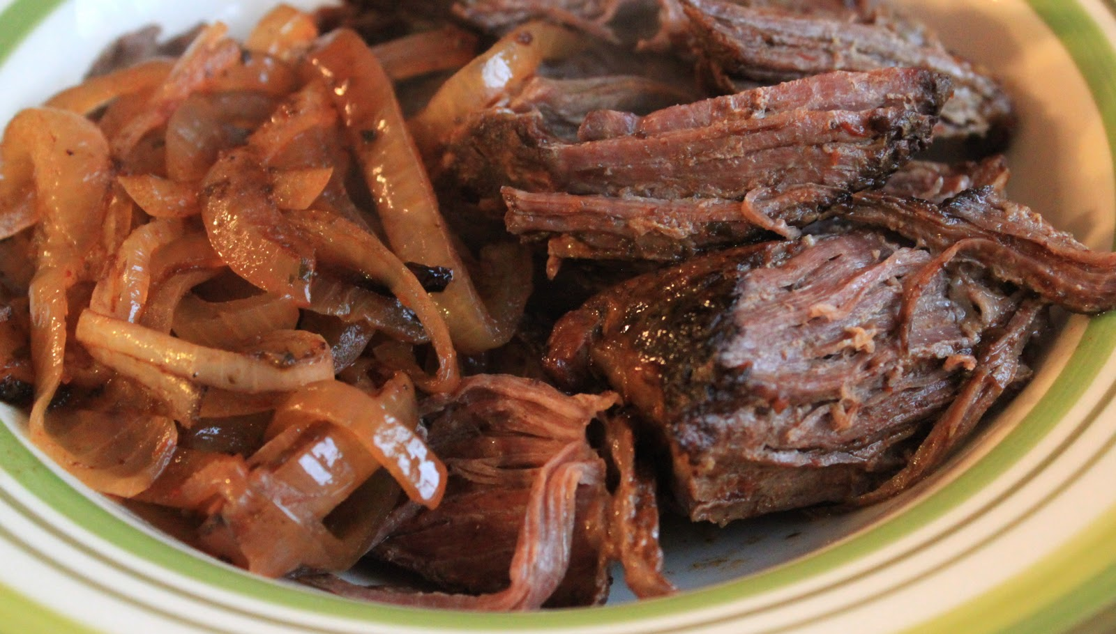 crock pot balsamic and sweet onion pot roast | greens & chocolate