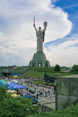 Estatua de la Madre Patria, Kiev