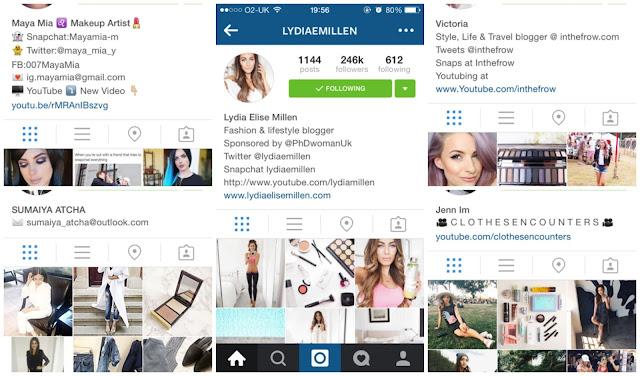 Top Instagrammers