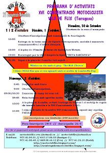Programa activitats XVI - Any 2011