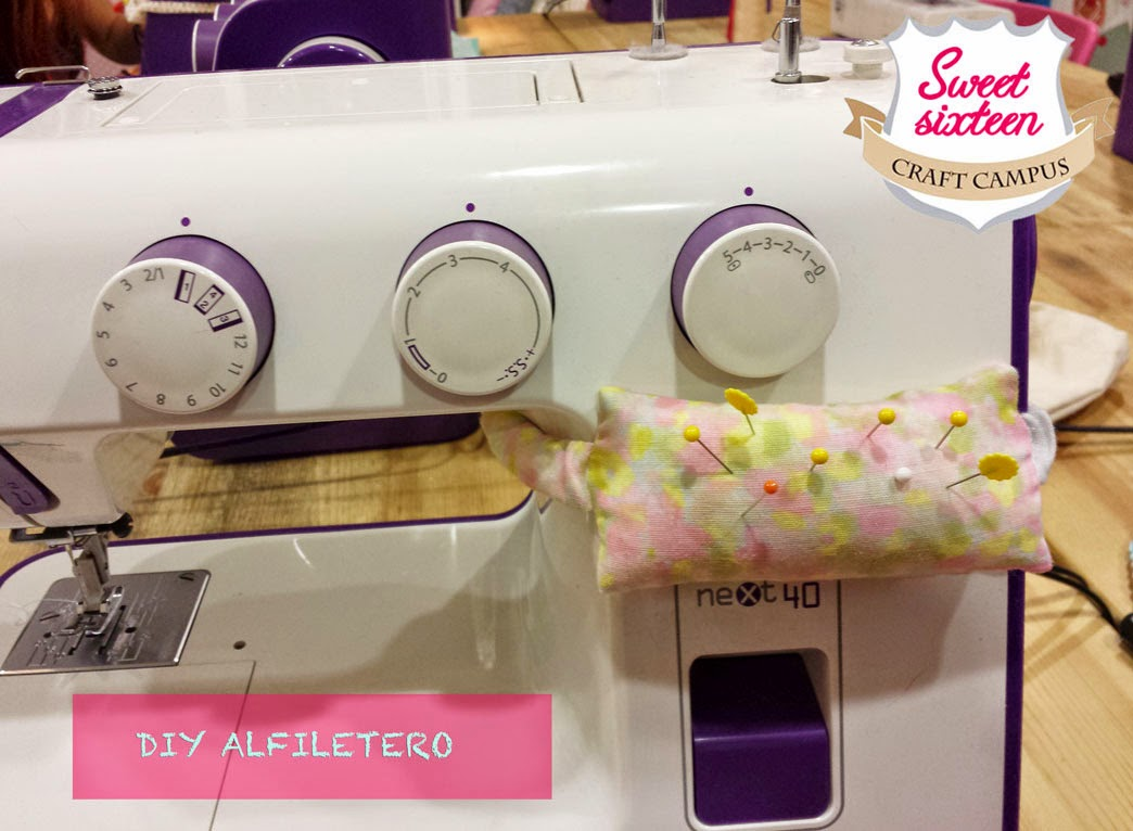 TUTORIAL DIY: ALFILETERO PARA MÁQUINA DE COSER SWEET SIXTEEN CRAFT STORE