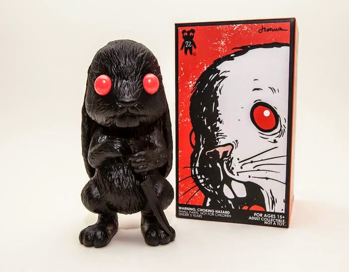 Shadow Variant Choices Vinyl Figure with Red Eyes by Jermaine Rogers