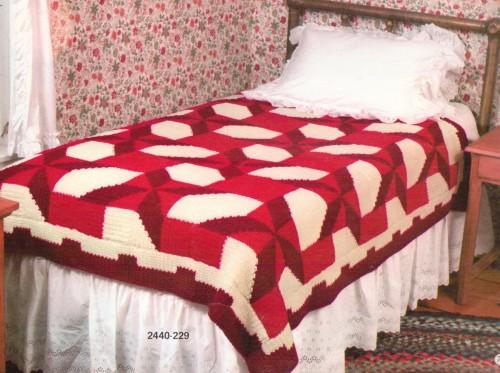 Pinwheel Blanket - Free Pattern