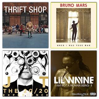 Billboard's Hot Album And Singles Charts - April 5, 2013