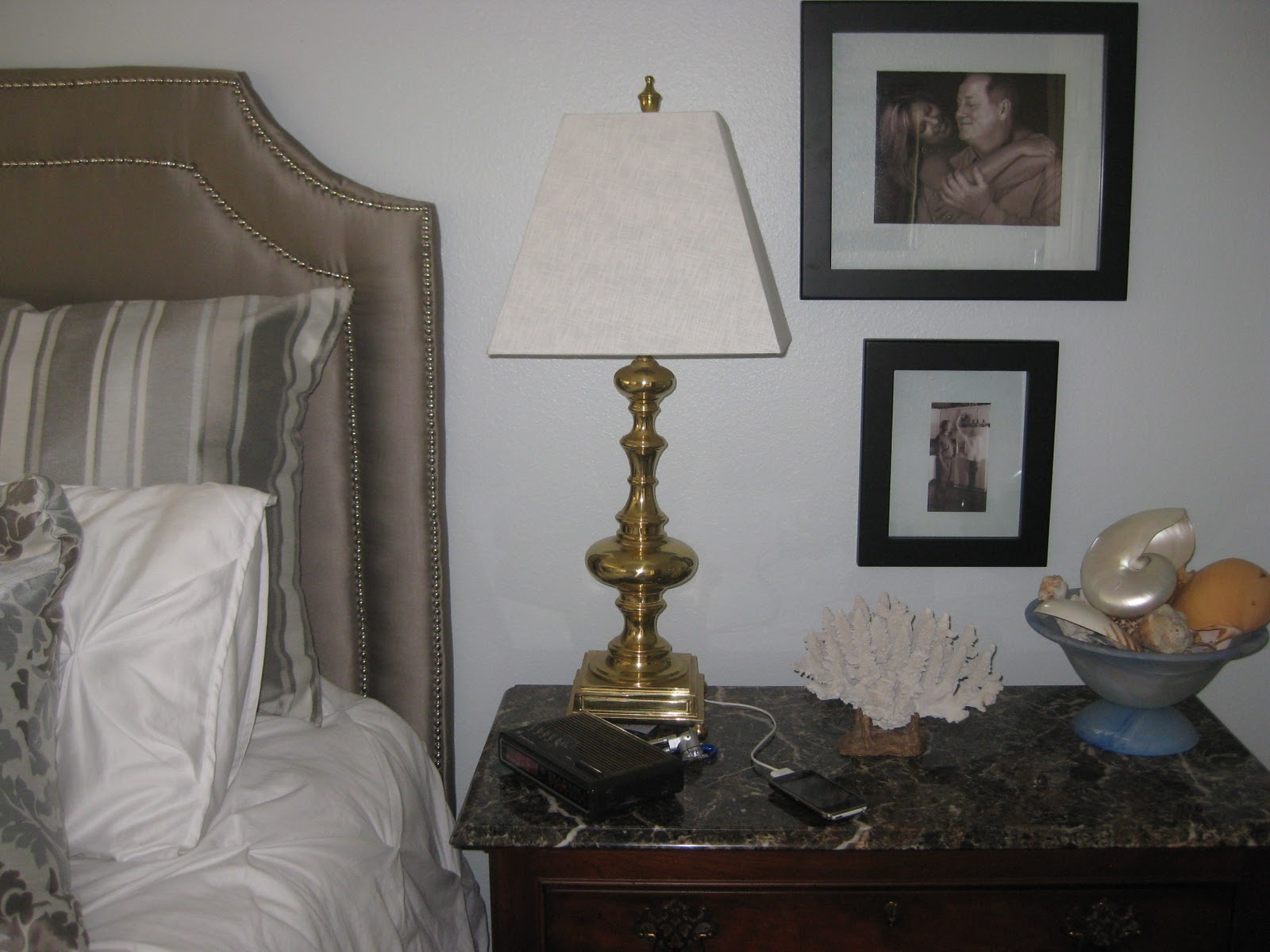 Future Targets Include This Set Of Solid Brass Bedroom Lamps. Theyu0027re Very  Heavy, Not Builderu0027s Brass, So It Makes Mr. Lane A Little Nervous That Iu0027m  Going ...