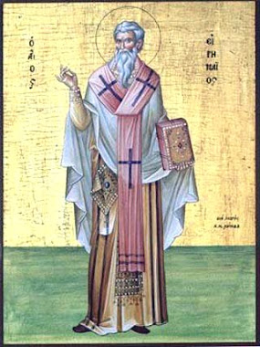 ST IRANEUS OF LYONS,      Father of the Church