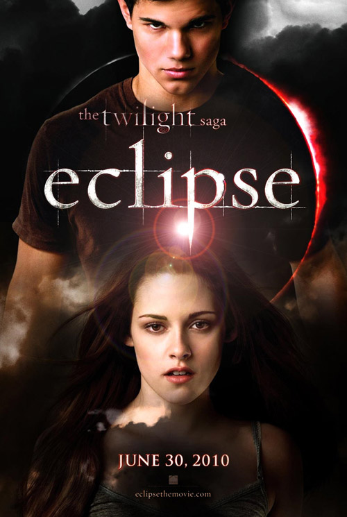 eclipse, twilight saga, poster, locandina