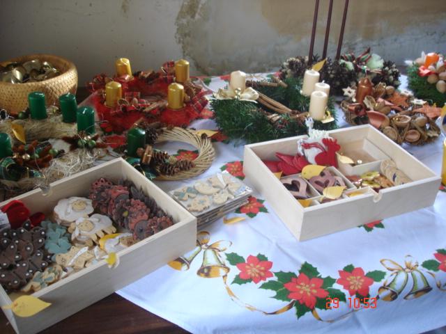 Advent na Krásné 29. 11. 2009 - výrobky
