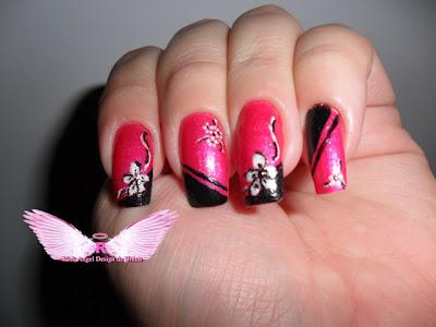unhas em homenagem ao outubro rosa by rosangela doblins4