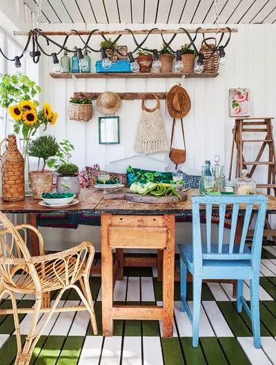 En mi espacio vital muebles recuperados y decoraci n vintage el porche acristalado m s bonito - Decorar un porche cerrado ...