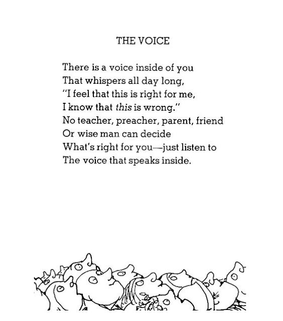 The Poetry of My Childhood / THE JOY BLOG - A collection of some of my favorite Shel Silverstein poems.