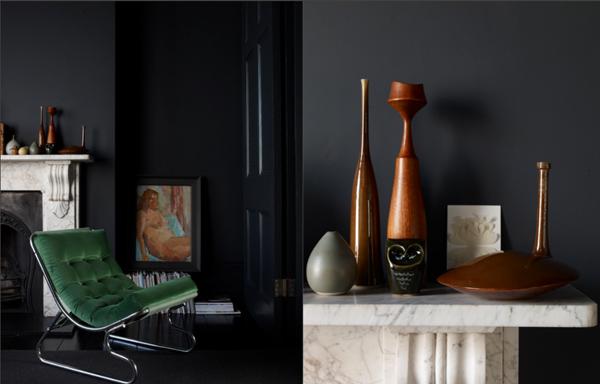 Noir blanc un style for Decoration appartement masculin
