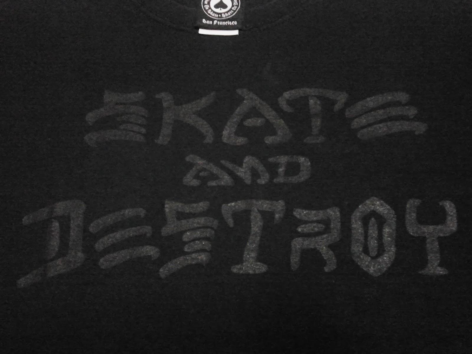 WL 2020 Skate And Destroy By Thrasher Magazine T Shirt