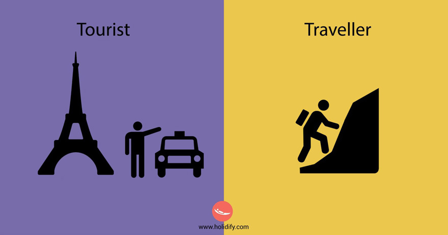#7 Tourist Vs Traveller - 10+ Differences Between Tourists And Travellers