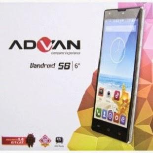 Kelebihan dan kekurangan Advan Vandroid S6 terbaru
