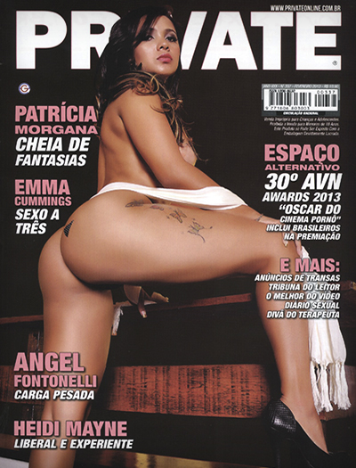 Patricia Morgana Private Patrícia Morgana – Revista Private (2013)