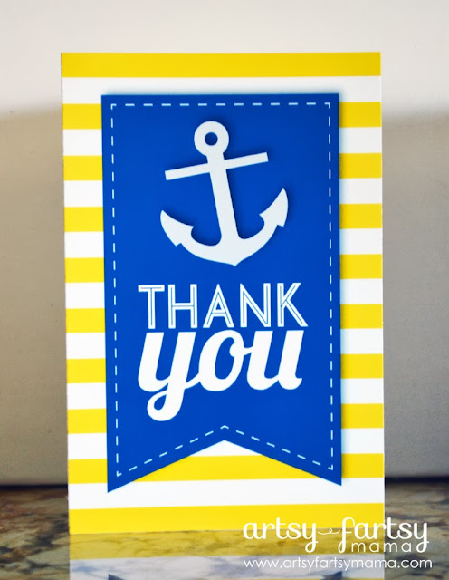 Free Printable Nautical Thank You Cards #freeprintable #thankyou #printable