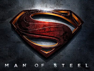 Wallpaper Logo Man of Steel / Superman for BlackBerry