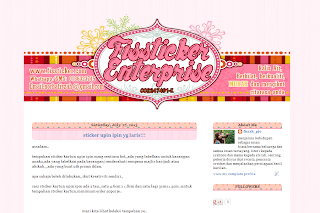 Edit Blog Fissticker