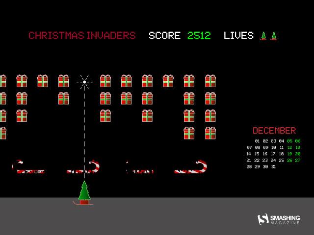 December 2015 - Christmas Invaders